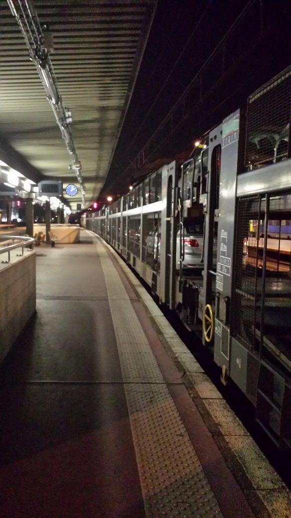 Mon TAC (Train Auto Couchette) à Lyon Part Dieu