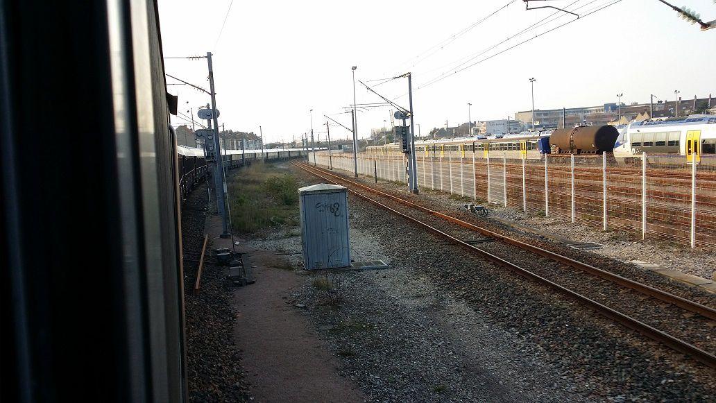 Départ de Calais
