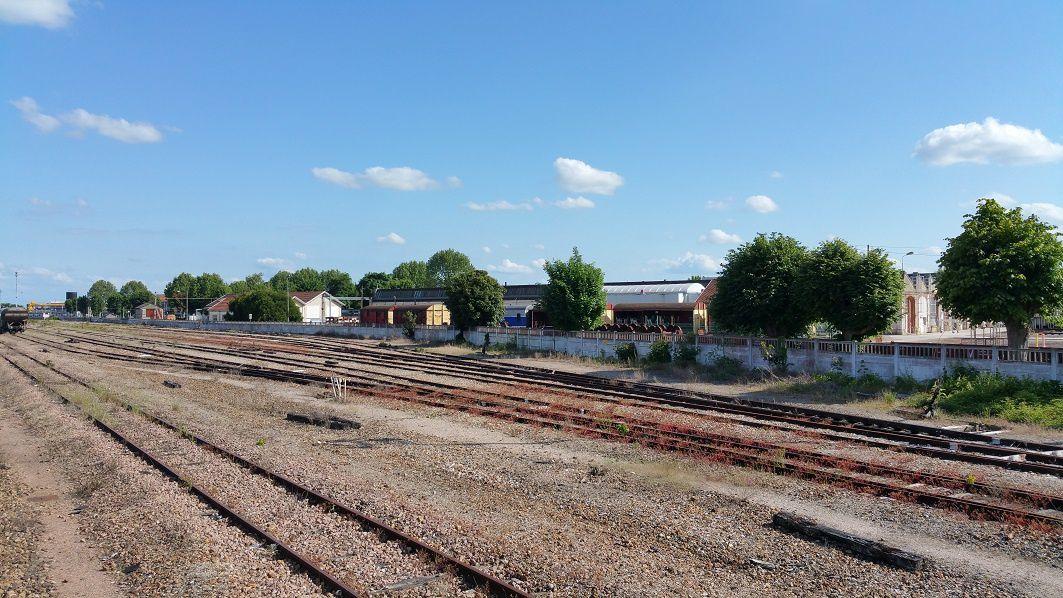 Les ateliers SNCF de Romilly-Sur-Seine