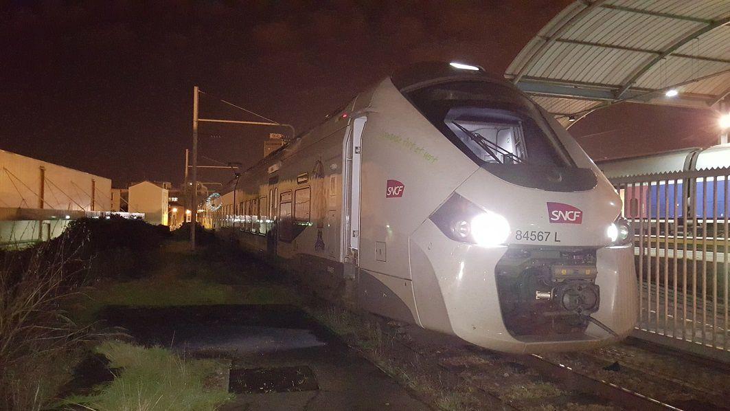 Dernier acheminement avec la B84567 au Landy, dans le tiroir de la voie K du Landy, au poste E de Paris-Nord, dans le triage du Bourget, dans le triage de Bobigny (de nuit et de jour), au triangle d'Eponne et à la bif de Plaisir.