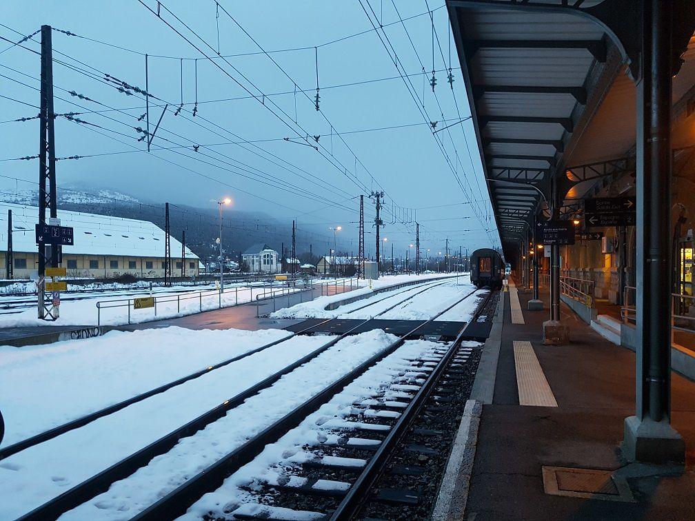 Travail - Mon 1er train à Latour de Carol (MAJ 05/02/17)