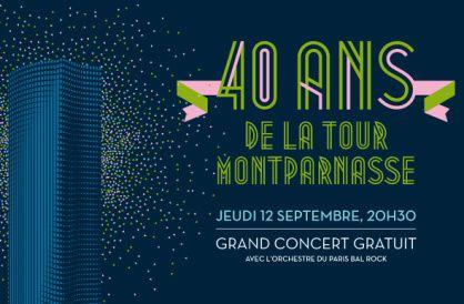 Ce soir, la Tour Montparnasse fête ses 40 ans !