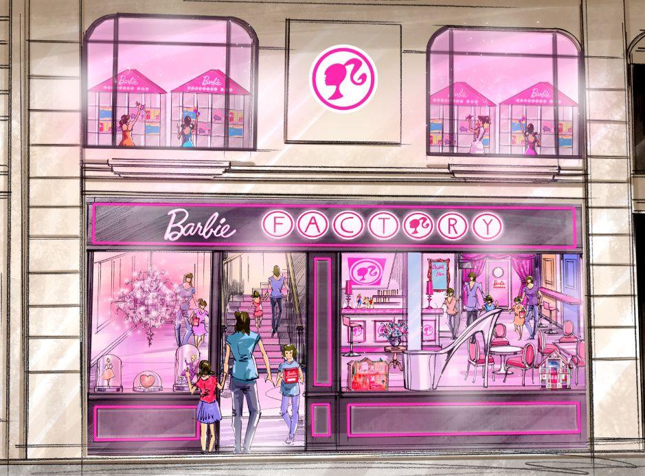 Barbie Factory, le paradis des petites filles