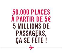 Volotea propose des billets d'avion à 5 € !