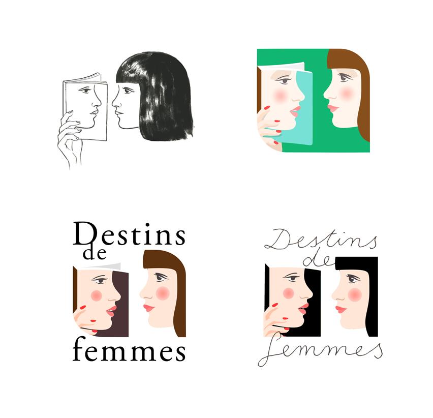 Recherche de logo pour Flammarion, merci Julie-Camille !