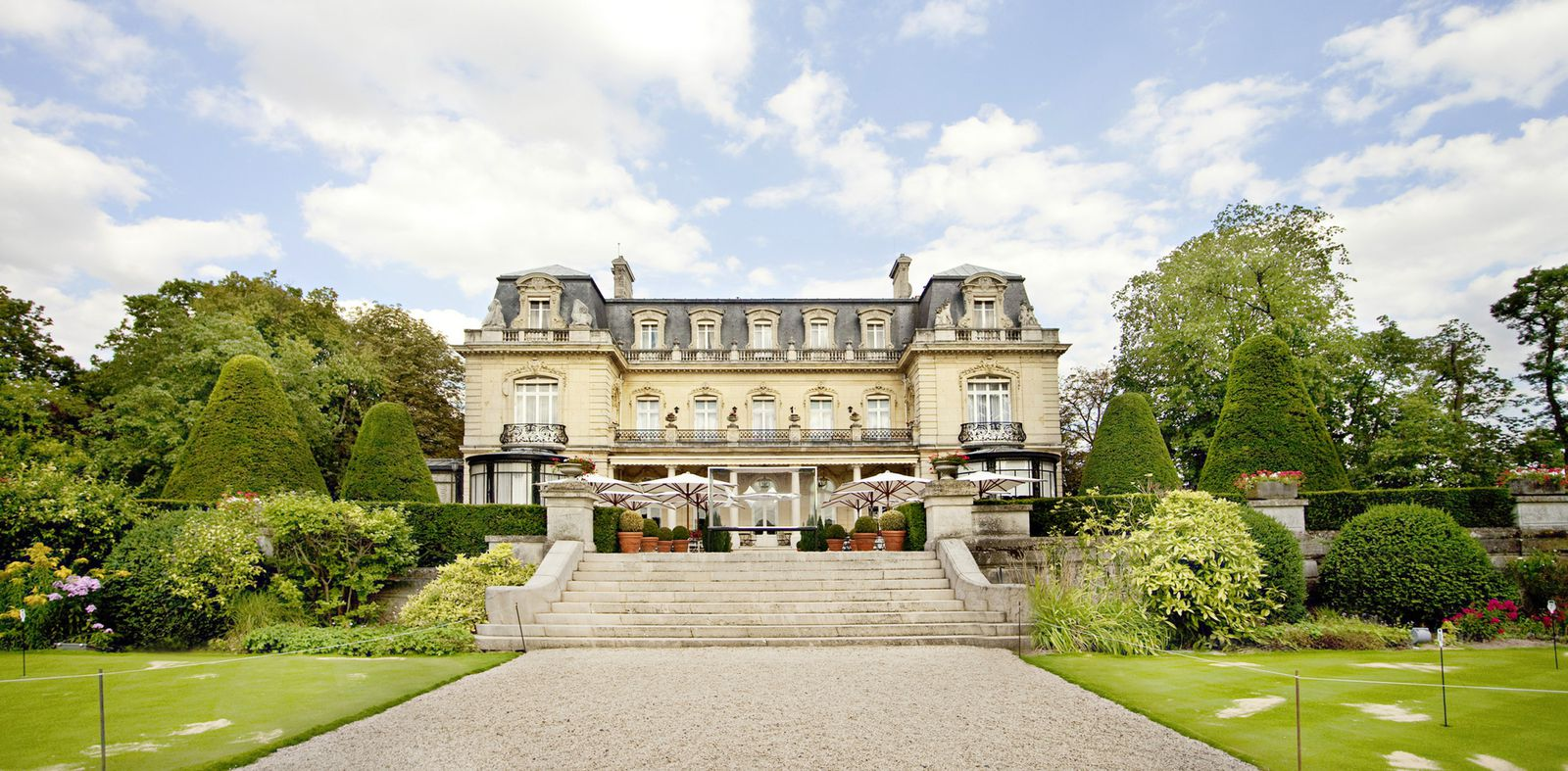 Hotel les crayeres reims france h tels luxe jardins for Le jardin reims