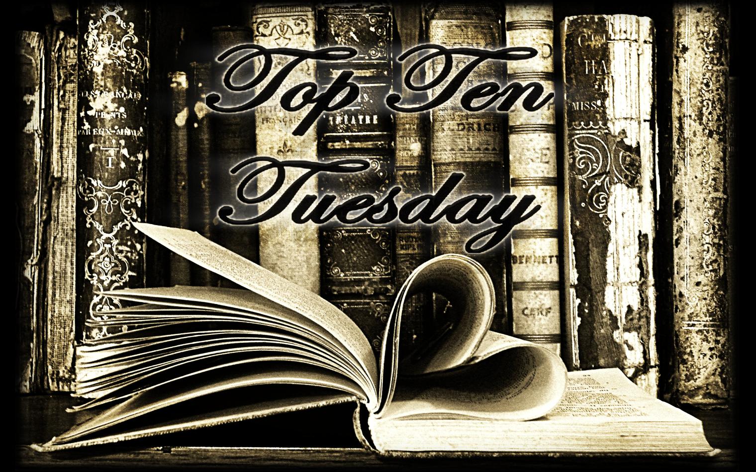 Top Ten Tuesday [4] - Les 10 thèmes ou mots du titre qui vous font directement acheter le livre