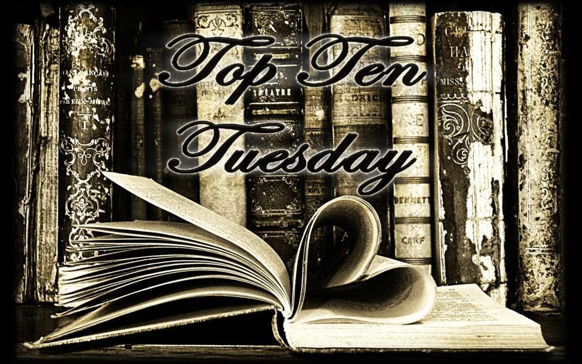 Top Ten Tuesday [7] : La première phrase des 10 derniers livres que vous avez lus
