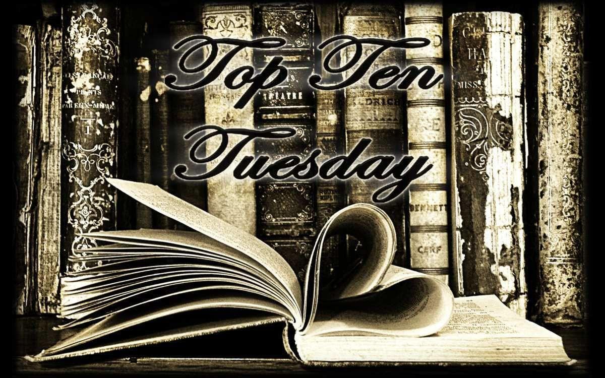 Top Ten Tuesday [9] - Les 10 livres que vous n'avez pas réussi à poser une fois commencés