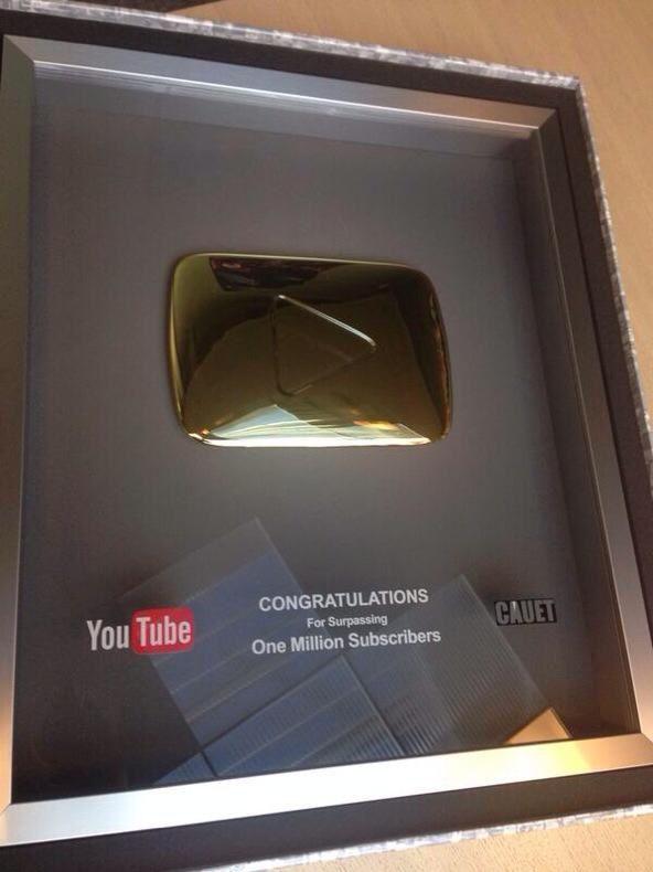 Le youtube d'or pour l'équipe de Cauet sur NRJ