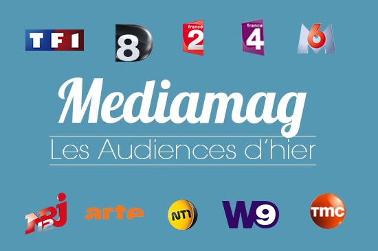 Audiences 15/12/2012 = TF1 en tête, bons scores pour France 5 et Arte