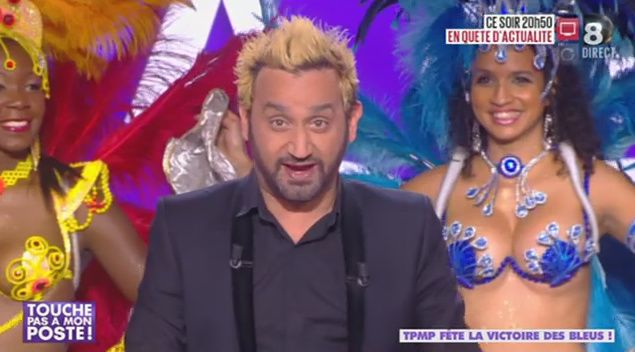 Cyril Hanouna blond !