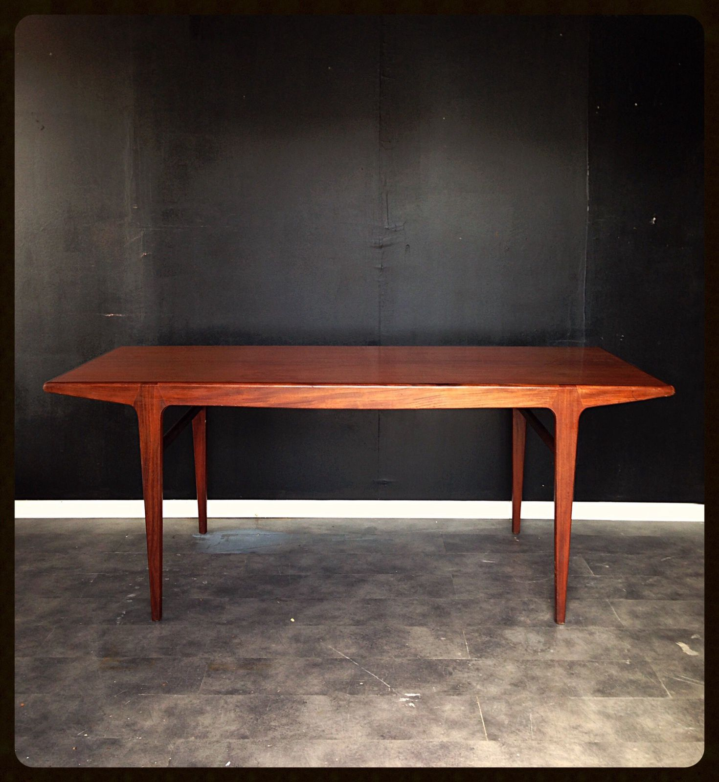 Table scandinave johannes andersen for Antiquaire lille meuble