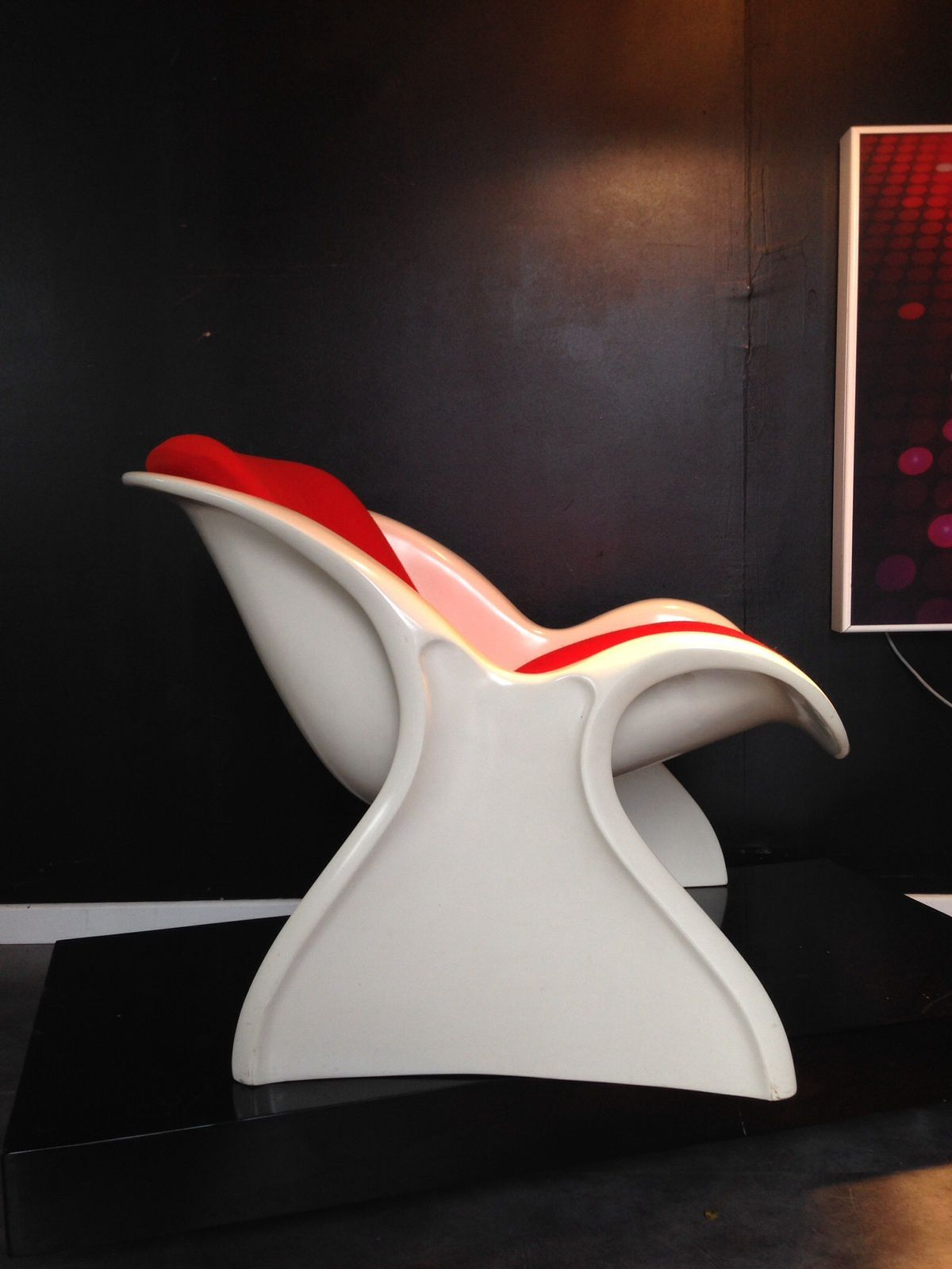 Vendu / Fauteuil Space Age Peter Ghyczy