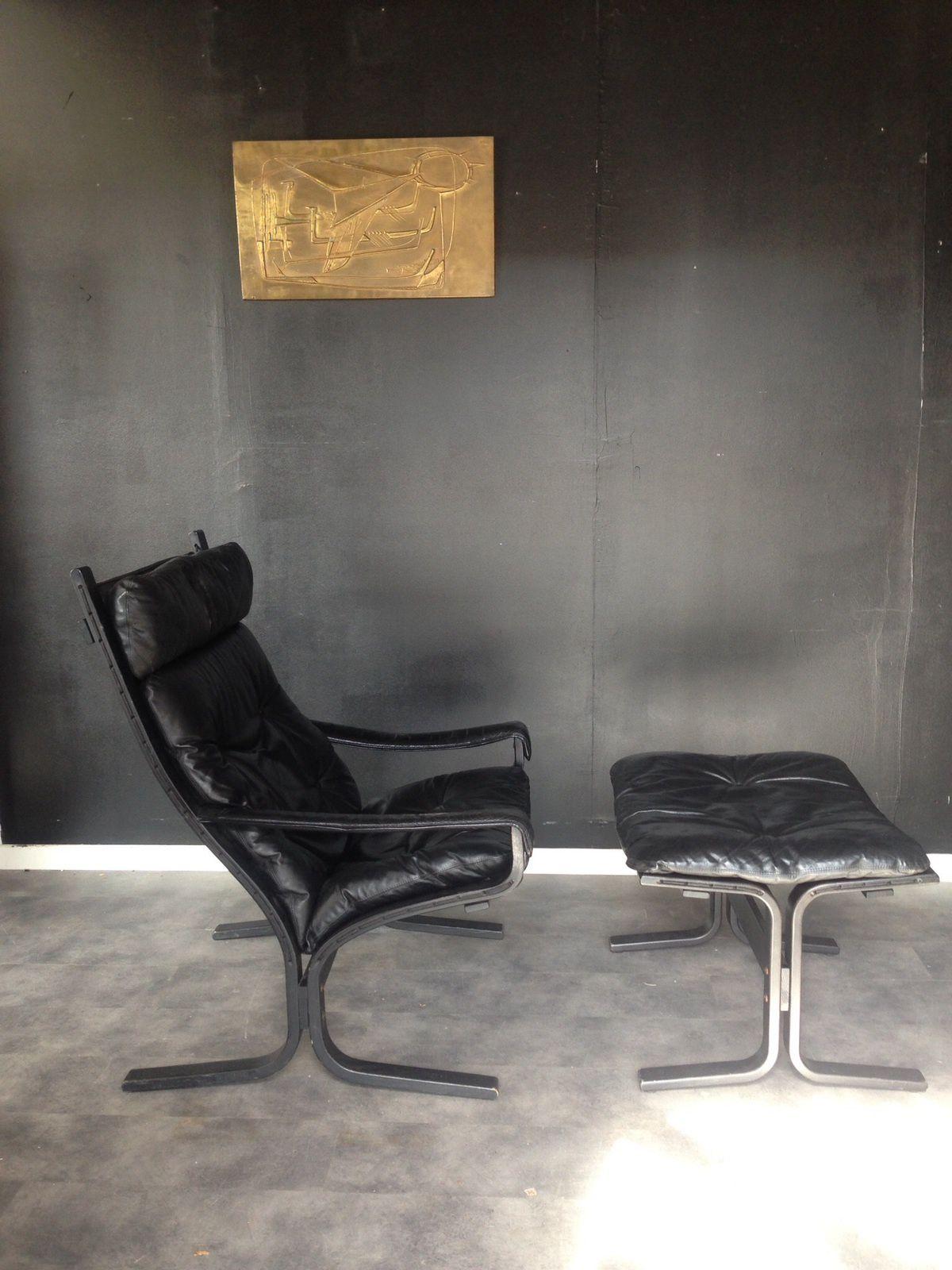 Vendu / fauteuils et ottoman Ingmar Relling