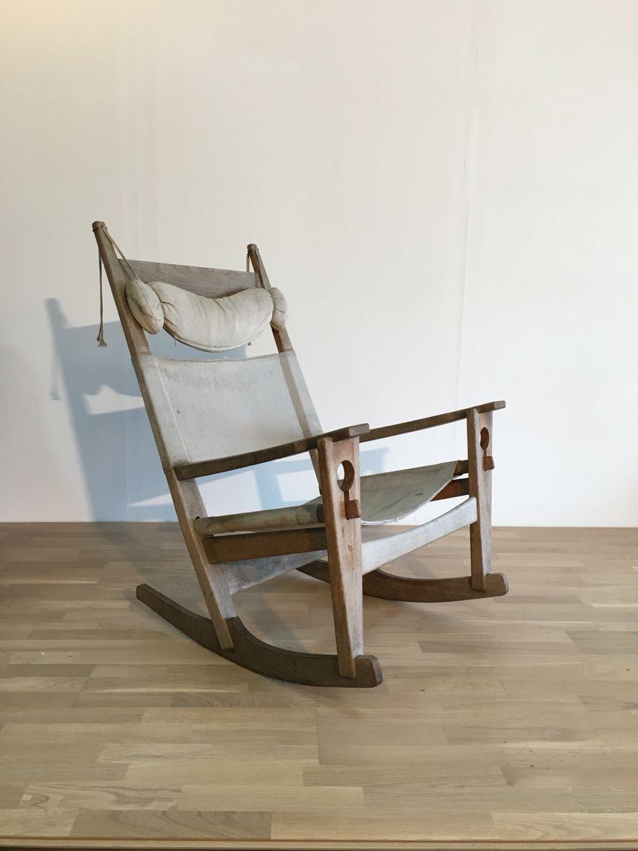 -----------vendu-----------Rocking Chair Hans Wegner Getama