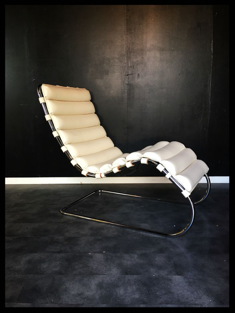 Vendu / Lounge chair Mies Van Der Rohe Knoll