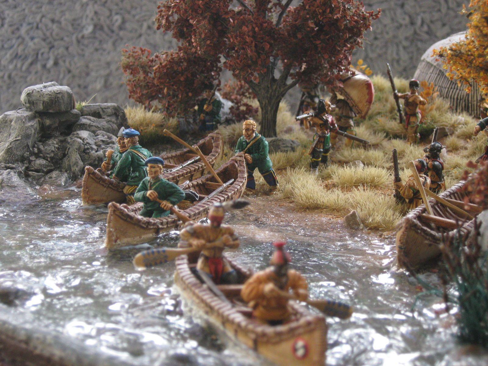 Groupe naval =10 hommes (6 indiens +4 rangers )