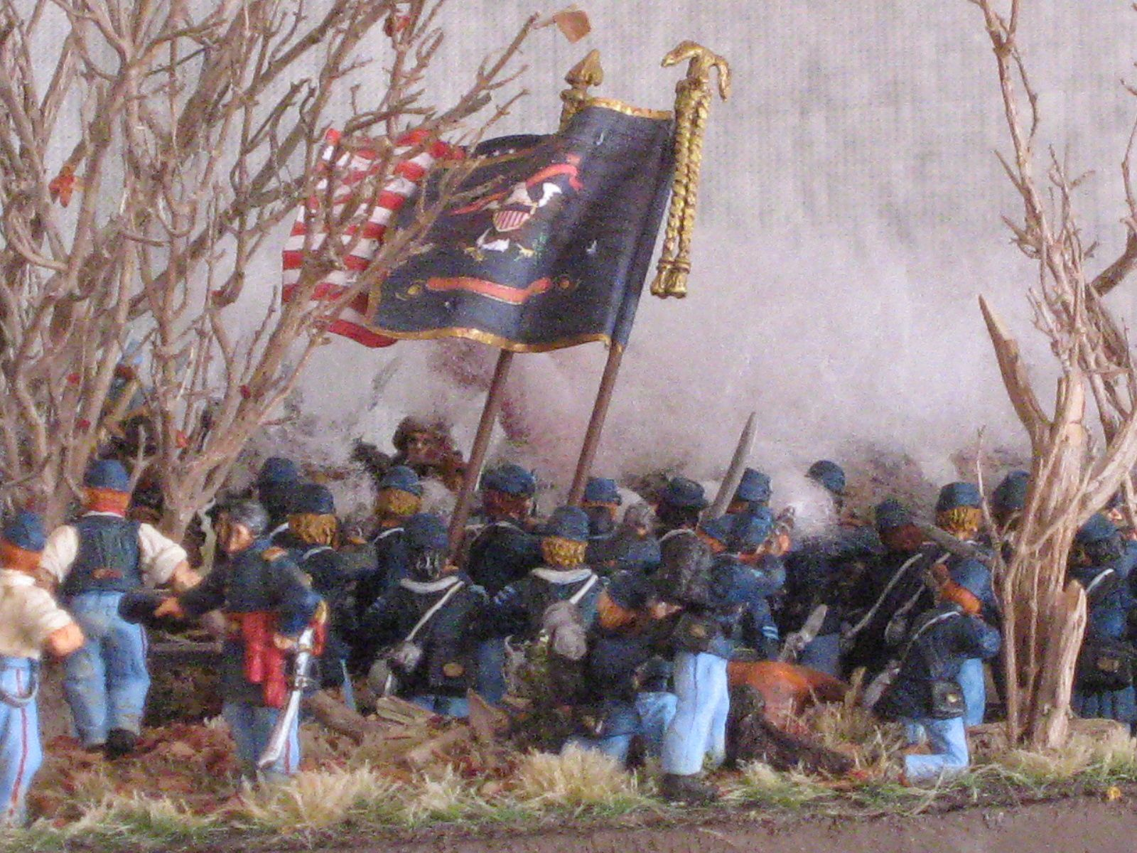 Army of the Tennessee /Maj Gen U. Grant /  18th Illinois / Hare brig/ 1st McClernand div