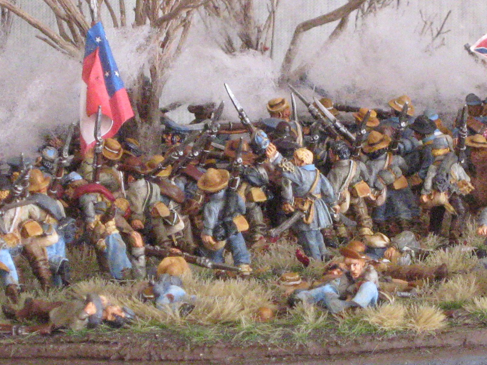 6 th Arkansas (3rd corps ) et 4 th Tennessee (1st tennesse ) / Army of the Mississipi .