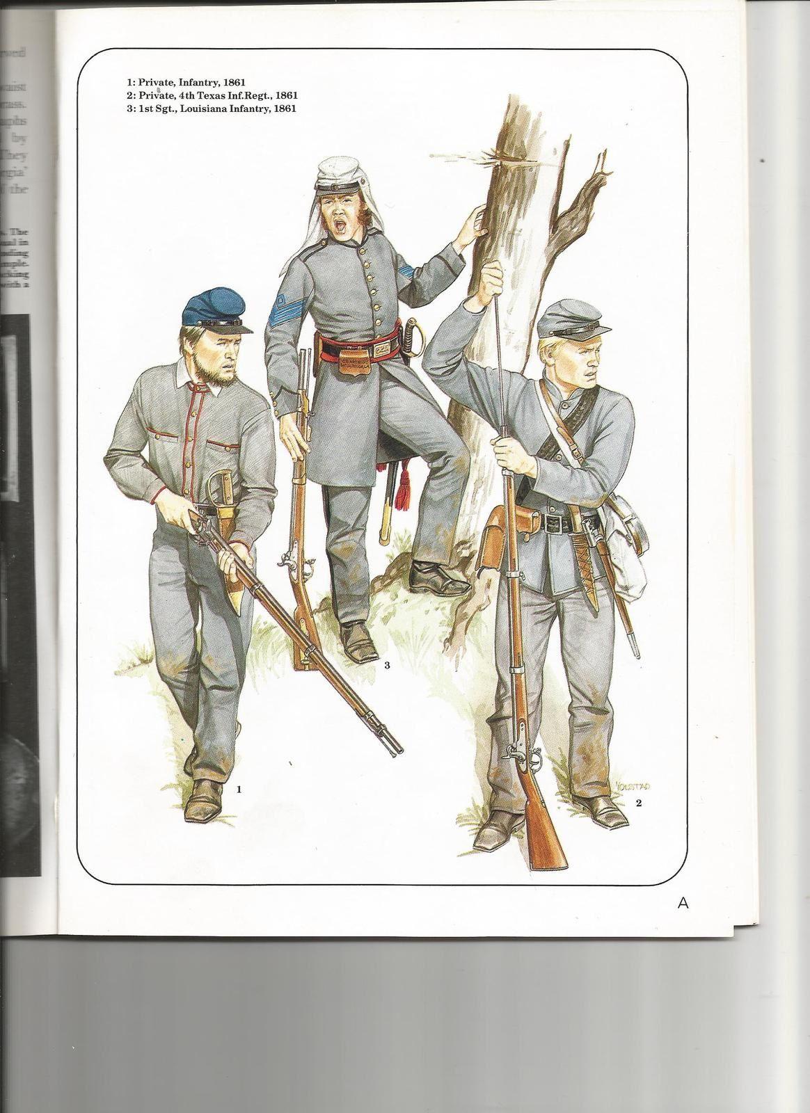 1861 , année des préparatifs à la guerre civile américaine ou ACW -épisode 3 (le green stuff)