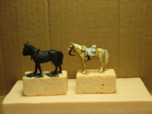 1861 , année des préparatifs à la guerre civile américaine ou ACW -épisode 5, (la robe des chevaux.)