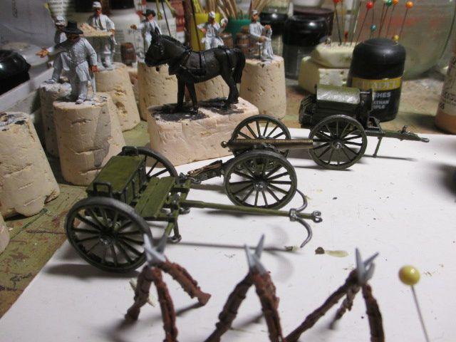 1861, année des préparatifs à la guerre civile américaine ou ACW -épisode 11 : ( le parc d'artillerie )