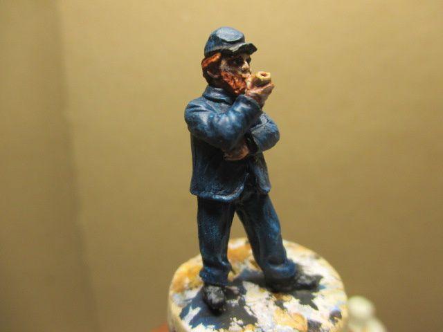 1861, année des préparatifs à la guerre civile américaine ou ACW -épisode 14: ( suite de l'infanterie au repos)