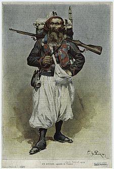 zouave français et américains