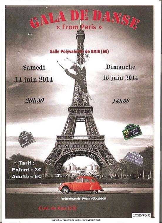 Affiche du gala 2014