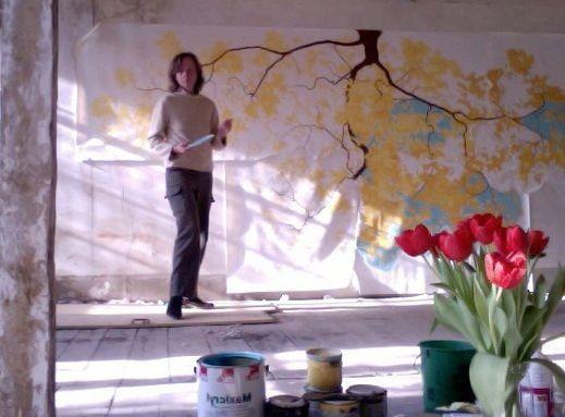 Chloé Preteceille, Artiste peintre en décors