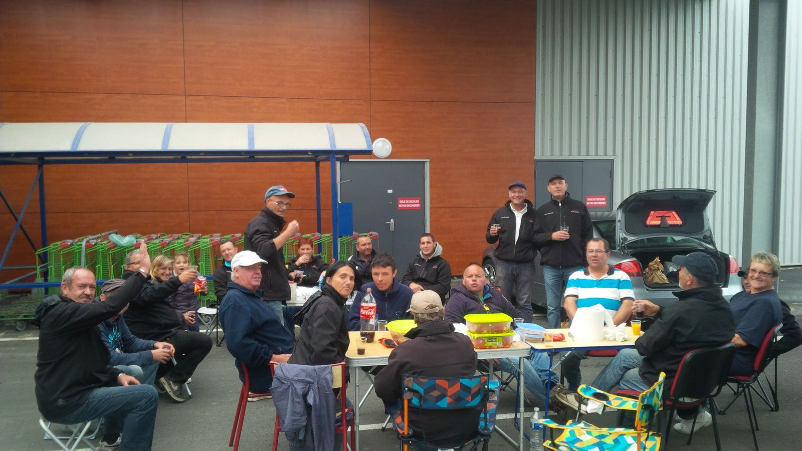 photos saint valery + affiche repas du club