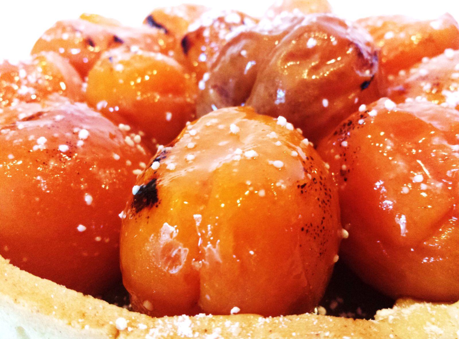 Tarte aux abricots de Philippe Conticini
