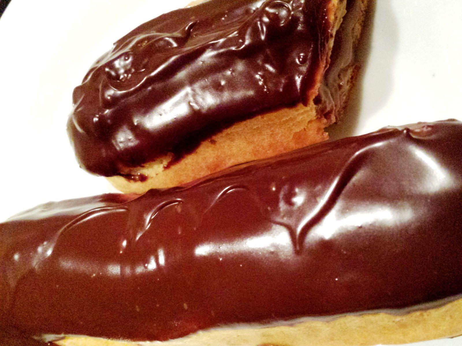 Eclairs au chocolat de l'Encyclopédie du chocolat Valrhona