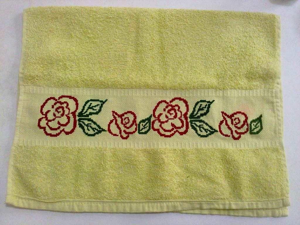 Serviettes et gants de toilette