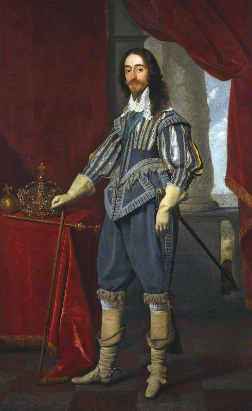King Charles I (Daniel Mytens) - NPG