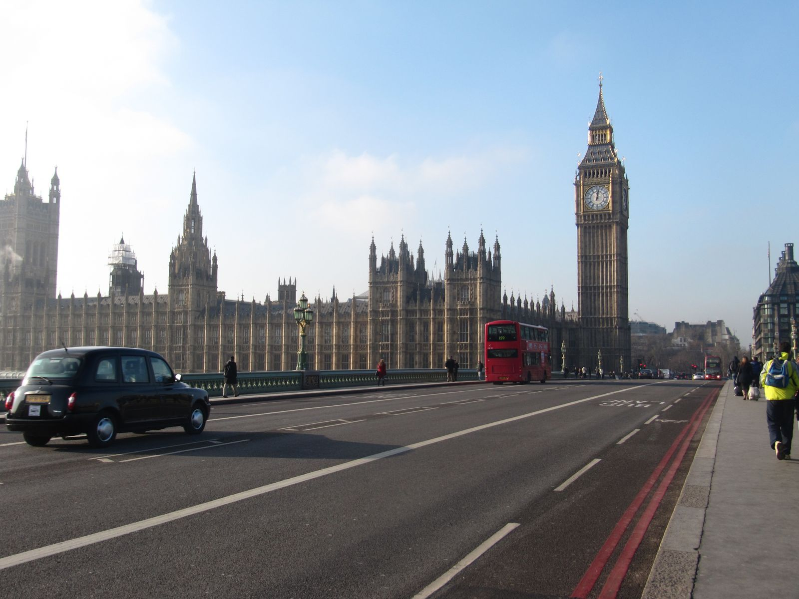 Westminster bridge & the House of Parliament