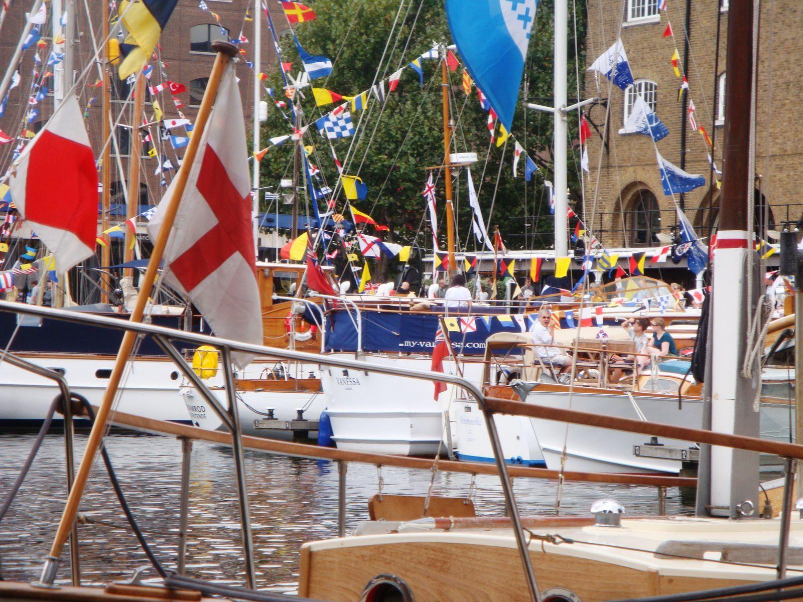 L'armada de Saint Katherine's Docks