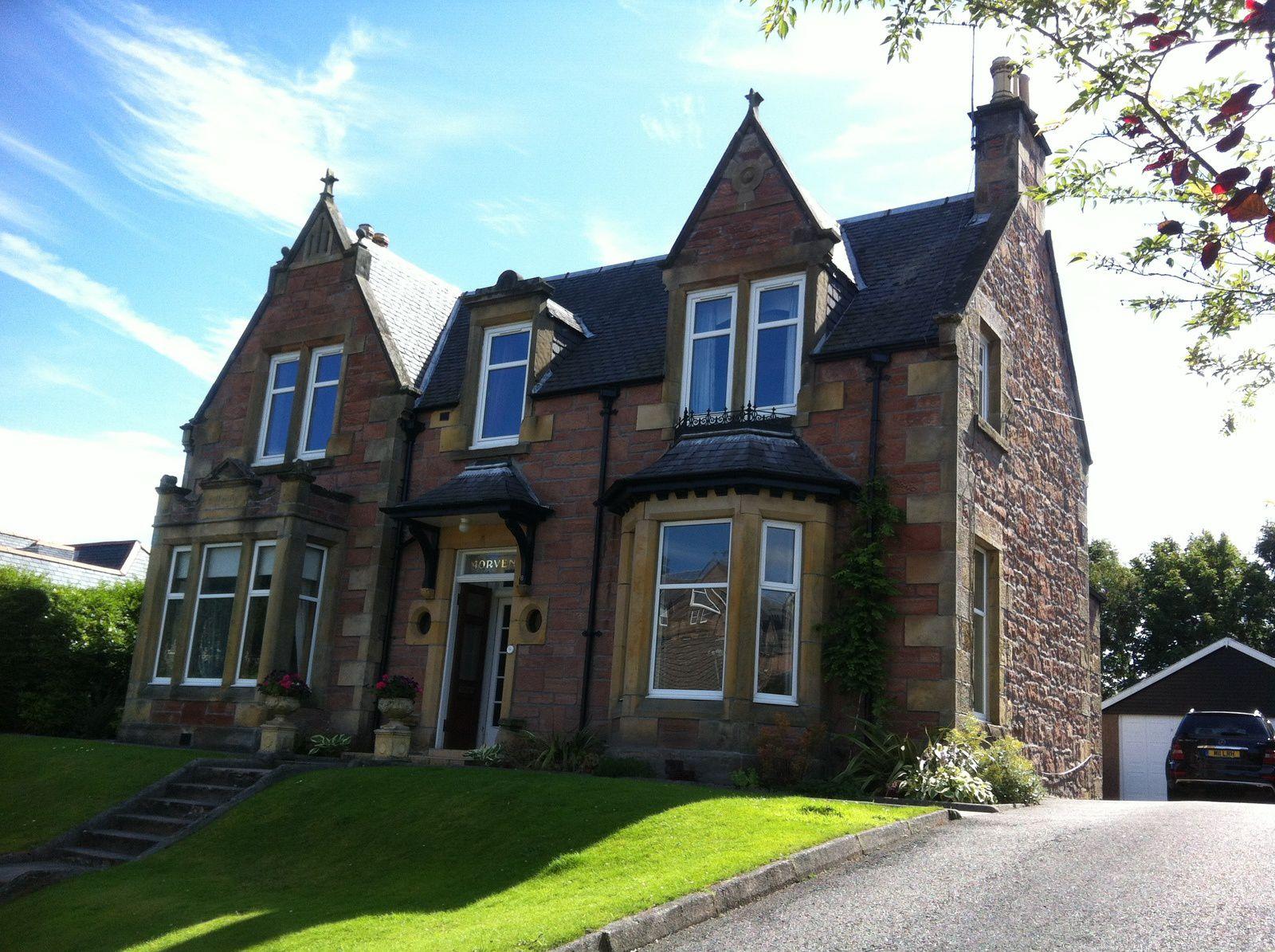 Inverness : son château, ses églises, les maisons de mes rêves...