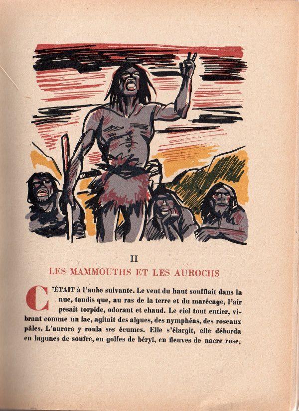 """J.-H. Rosny aîné """"La Guerre du feu"""" (La Nouvelle France - 1943)"""