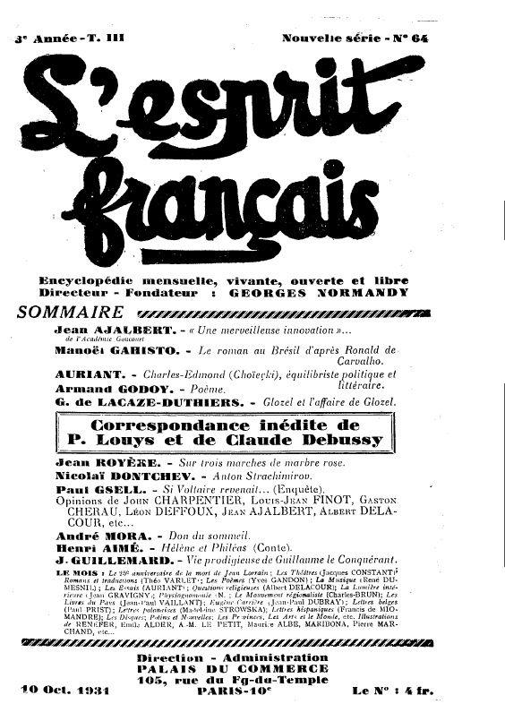 """Critique du roman """"Helgvor du Fleuve Bleu""""  de J.-H. Rosny aîné par Théo Varlet (1931)"""