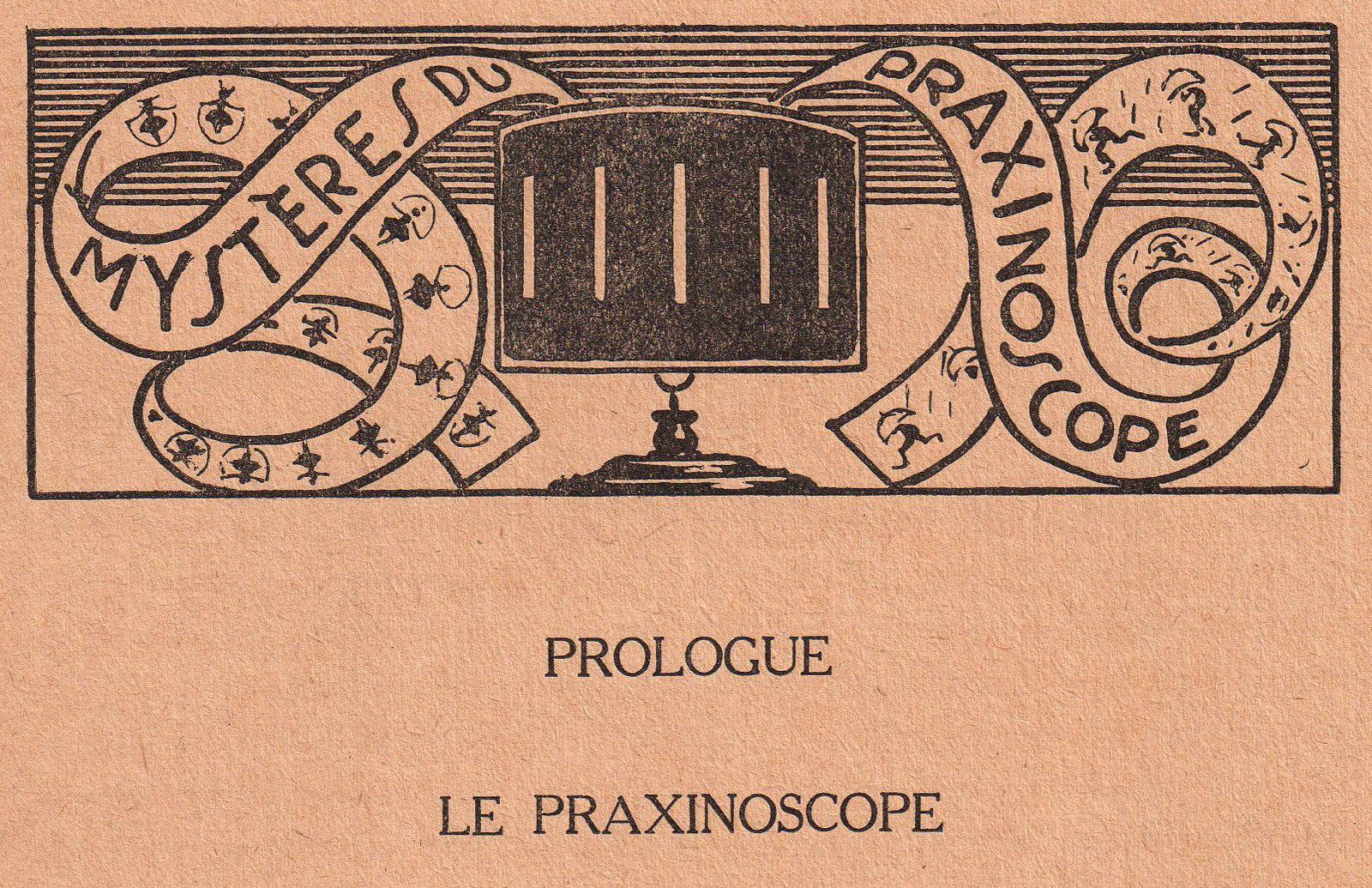 """Maurice Venoise """"Les Mystères du Praxinoscope"""" (Boivin et Cie éditeur - 1931)"""