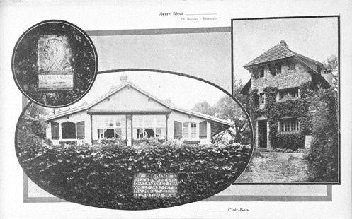 Maison de villégiature dite Villa La Pierre bleue (1905)
