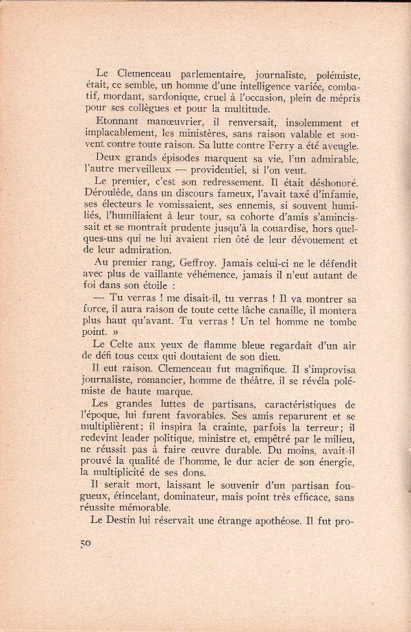 """J.-H. Rosny aîné : """"Geffroy et Clemenceau"""" in """"Portraits et souvenirs"""" (Compagnie Française des Arts Graphiques - 1945)"""