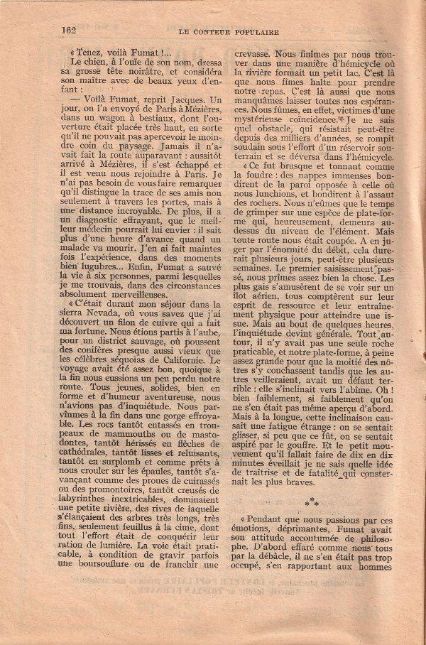 """J.-H. Rosny """"Le Sauvetage [2]"""" in Le Conteur populaire n°83 du 8 mai 1906"""