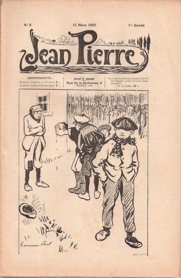 """J.-H. Rosny """"La Mauvaise Force et la bonne Force"""" in Jean Pierre n°8 du 15 mars 1902"""