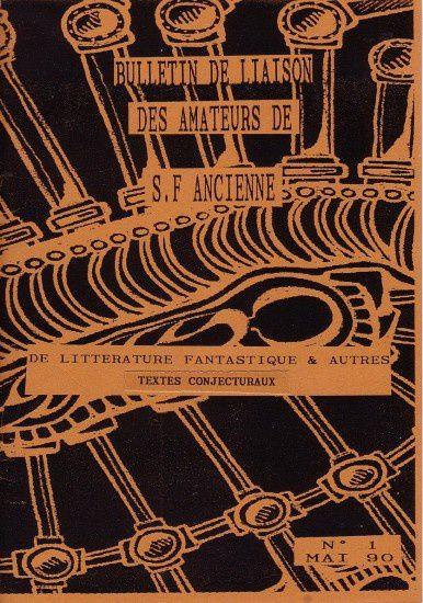 Bulletin des amateurs d'anticipation ancienne et de littérature fantastique / BAAAF
