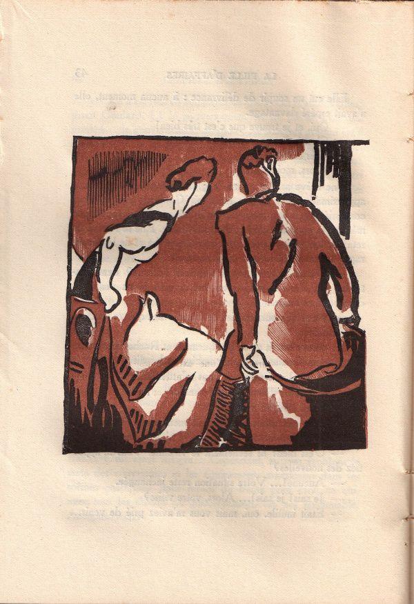 """J.-H. Rosny aîné """"La Fille d'affaires"""" (Ferenczi - 1930)"""