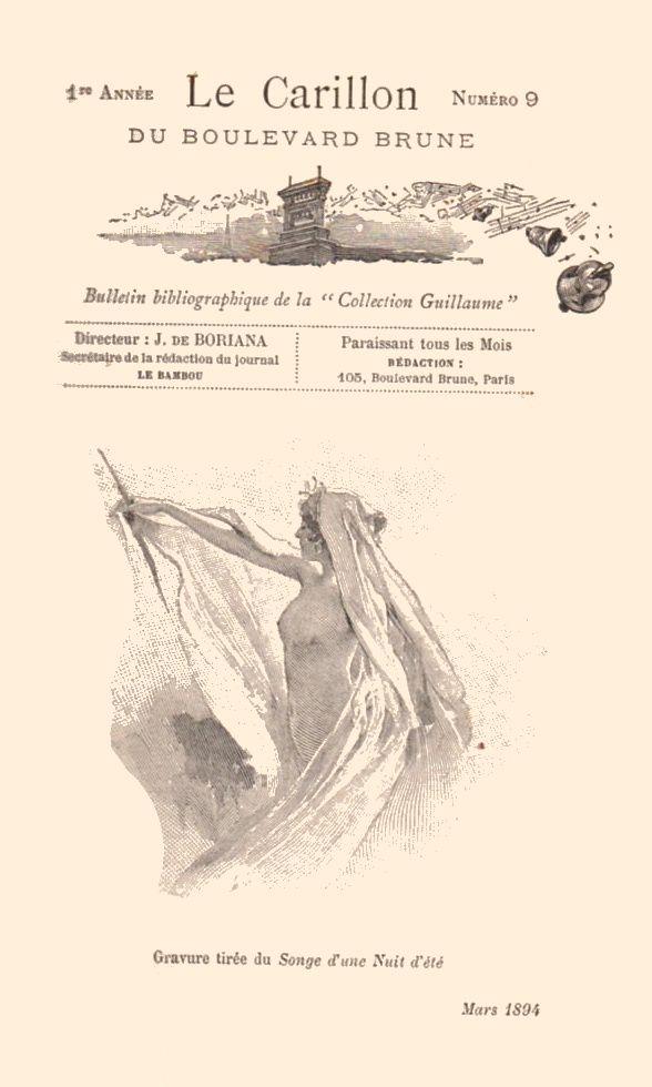 Le Carillon du boulevard Brune n°9 (1894)