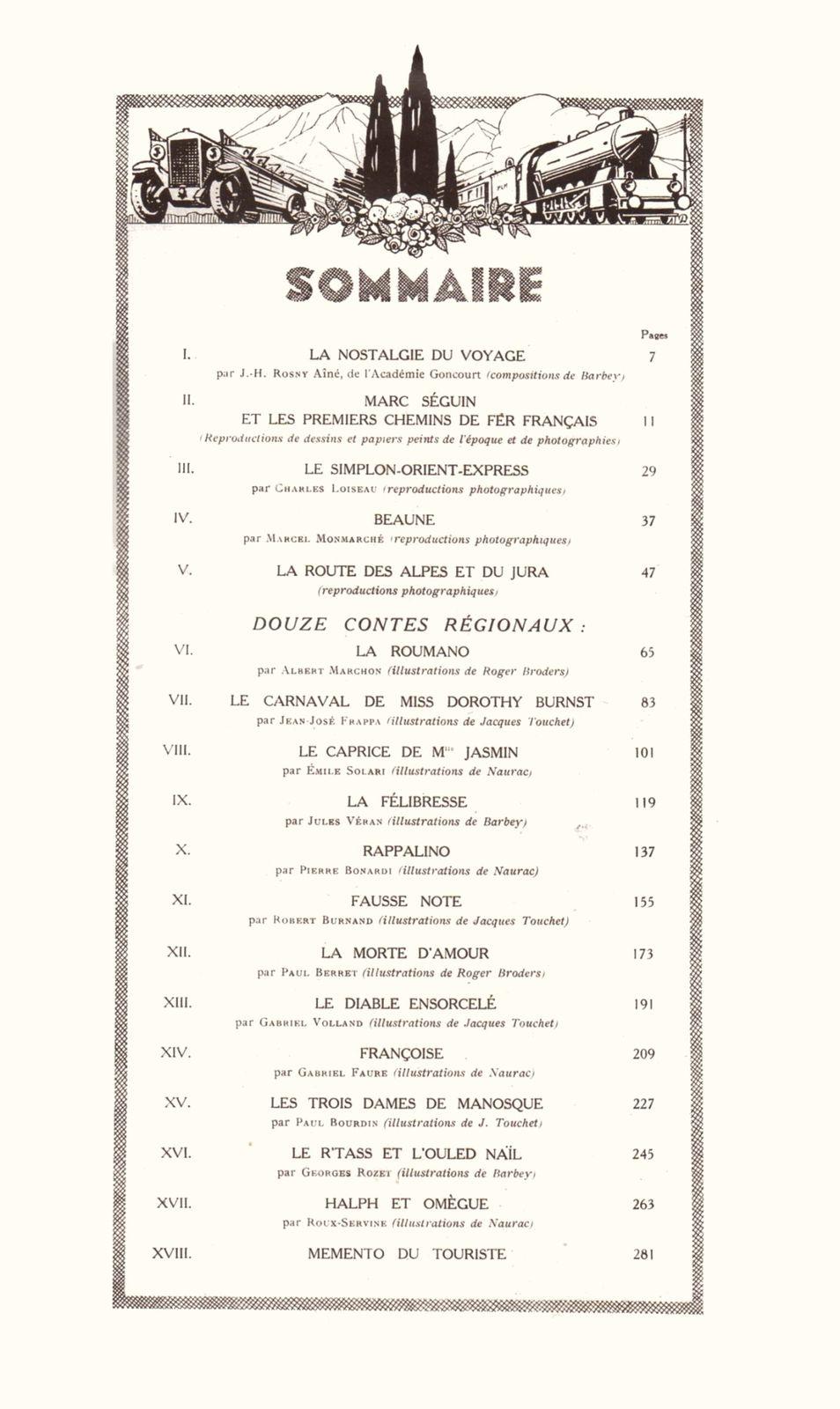 "J.-H. Rosny aîné ""La Nostalgie du Voyage"" in Agenda P.L.M. 1928 (1927)"